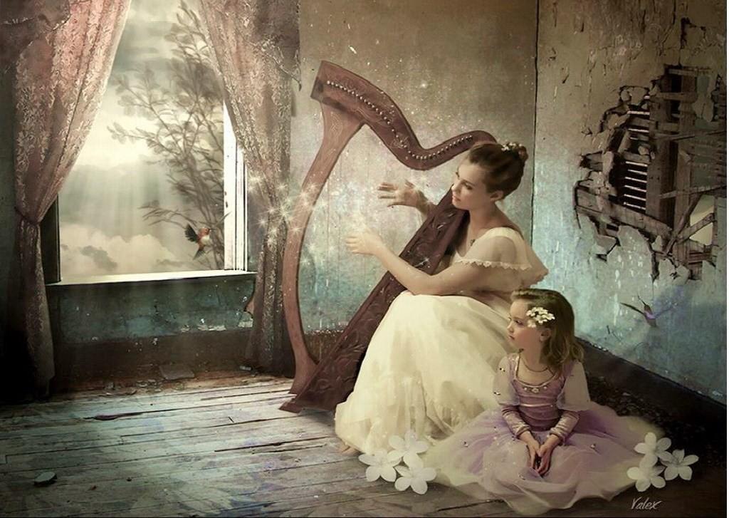 82064_kobieta_dziewczynka_harfa